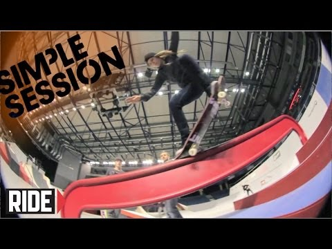 Ryan Sheckler, Greg Lutzka, Phil Zwijsen & More - Simple Session 2014