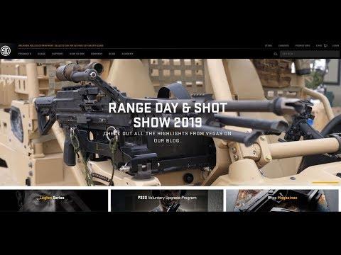New SIG Guns Ammo Optics: Gun Talk Radio  Bonus Podcast