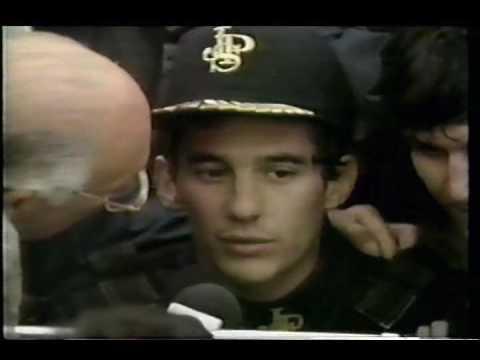 Stewart Interview Senna Interview Ayrton Senna