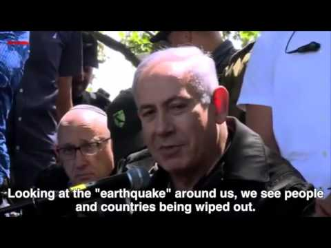 WATCH: Prime Minister Benjamin Netanyahu meets with IDF troops protecting the Golan Heights.