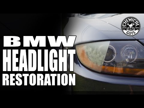 Chemical Guys - How To: Headlight Restoration