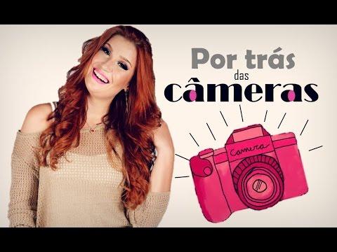 Por trás das câmeras ♥ Um dia de gravação comigo! - Por Bianca Andrade