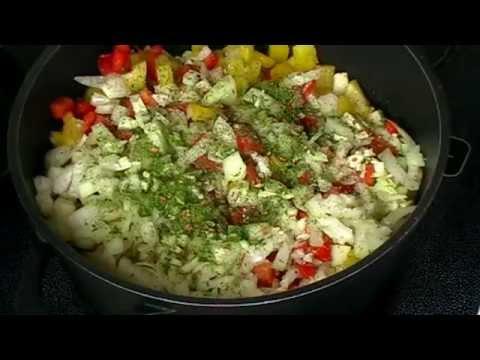 Как приготовить - Тушеные баклажаны с картошкой