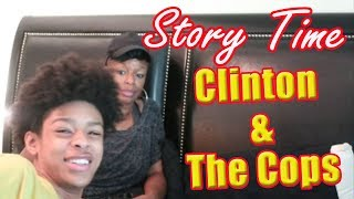 CLINTON & THE COPS - Story Time with Clinton - FAMILY VLOG