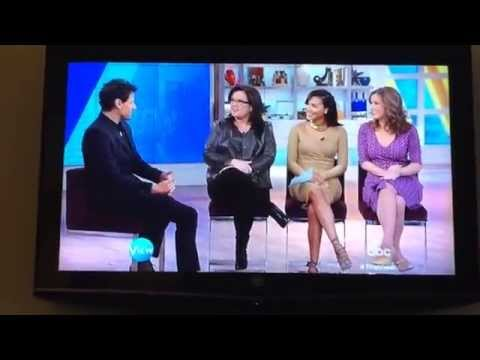 Naya Rivera on The view Jan /13/ 2015