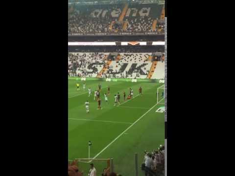 Talisca Golü - Beşiktaş 1-0 Gaziantepspor  - Caner Asist (Taraftar Çekimi)