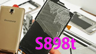 Ремонт Lenovo S8 S898T замена сенсора