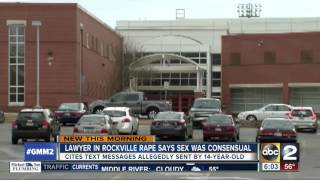 Teen claims sex in high school bathroom was consensual