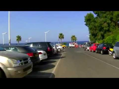 Protaras main street - Protaras Drive - Scooter ride - Cyprus Travel Guide - Ayia Napa