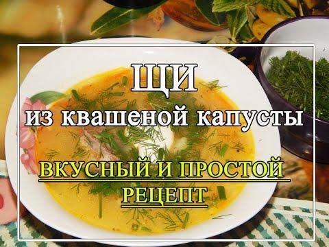 Рецепты щи простые и вкусные