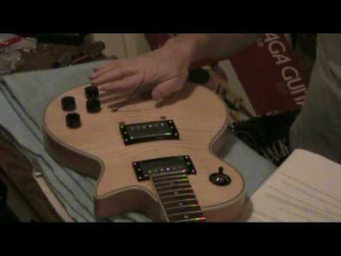 Les Paul Guitar Kit Part 6