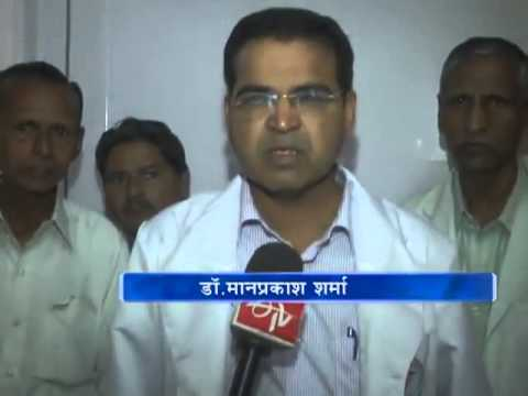 Health Minister Rajendra Rathore visits Margaret Alva's injured brother at SMS Hospital
