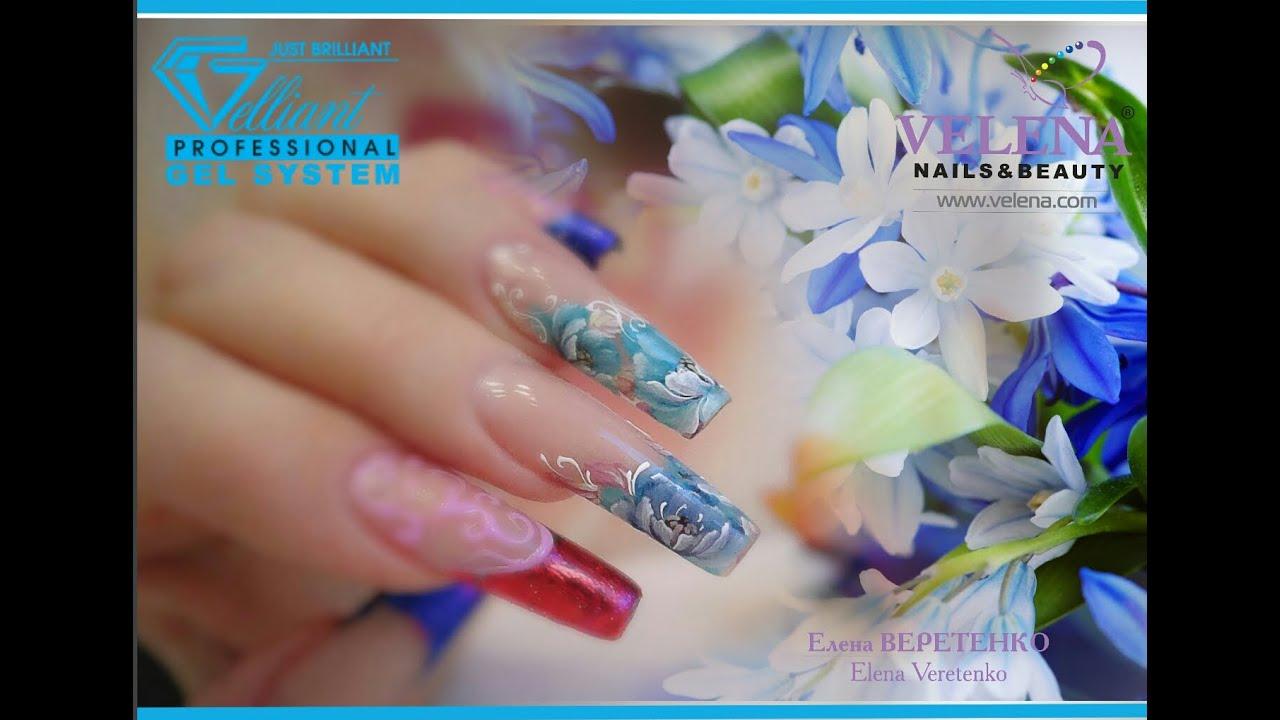 Елена веретенко роспись ногтей