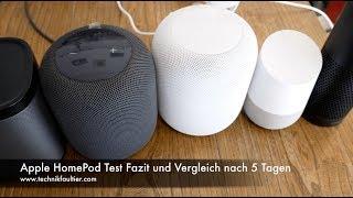 Apple HomePod Test Fazit und Vergleich nach 5 Tagen