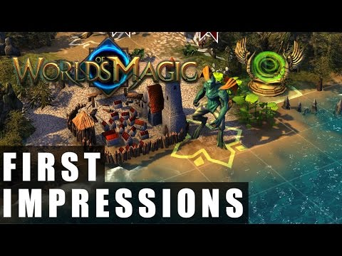 Worlds of Magic Gameplay | First Impressions HD