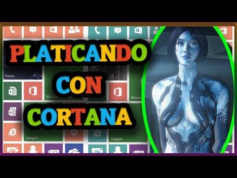 Platicando con Cortana (Windows Phone) (ESPAÑOL)