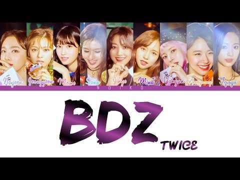 TWICE (트와이스) - 'BDZ' (Korean Ver.) Lyrics [Color Coded_Han_Rom_Eng]