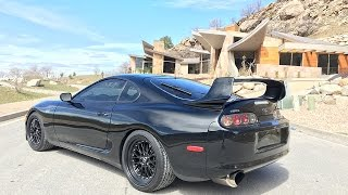 All about Clyde. 800hp MKIV Supra!