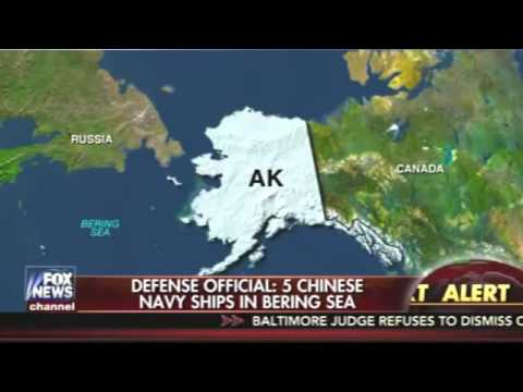 Fox News: 5 Chinese Ships in the Bering Sea Off the Alaskan Coast