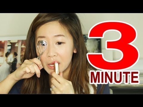 3 MINUTE MAKEUP CHALLENGE!