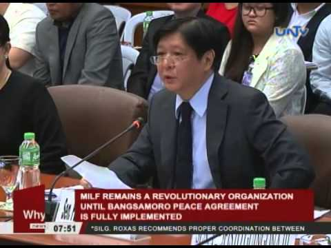 MILF remains a revolutionary organization until Bangsamoro Peace agreement is fully-implemented