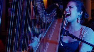 Harp Cover of Imagine Dragons' Radioactive - Pia Salvia at Rose Hill Mondays