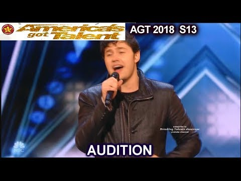 "Daniel Emmet Sings ""Passera"" that Simon Cowell Asks for Him to sing America's Got Talent 2018  AGT"