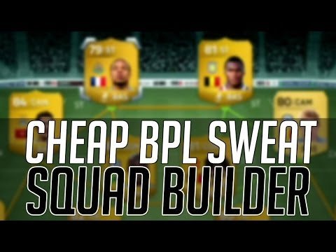 THE AFFORDABLE BPL SWEAT SQUAD (CHEAP)   FIFA 14 Ultimate Team Squad Builder (FUT 14)