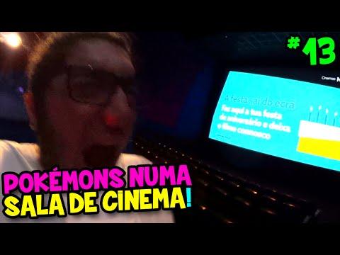 POKÉMON GO #13 - ENTREI NUMA SALA DE CINEMA SÓ PARA CAPTURAR POKÉMONS !