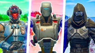 WEEK 7 SKINS FACE OFF (A.I.M vs Enforcer vs The Visitor)  - Fortnite Short Film