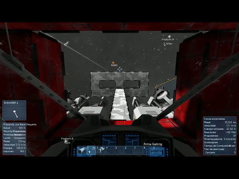 EPIC DUELO ESPACIAL | Space Engineers - Justa de naves