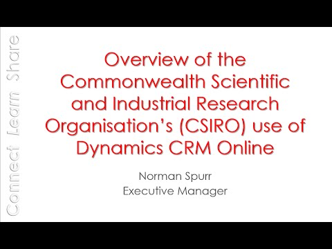 May 2016 Meeting - CSIRO Overview