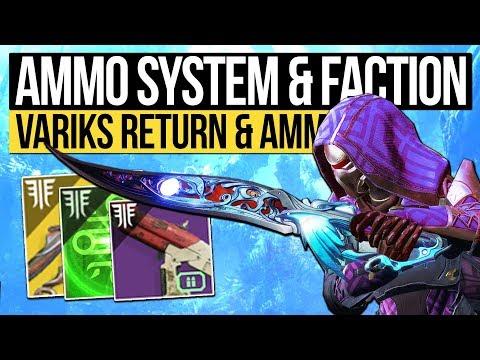 Destiny 2 News | BIGGEST DLC & NEW AMMO SYSTEM! Variks Returns, New Strikes, Factions & Power Boost! thumbnail