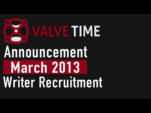 ValveTime Announcement - We're Recruiting!
