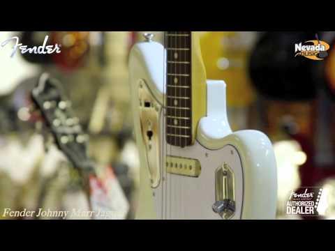 Fender Johnny Marr Jaguar Guitar - Quick Look @ Nevada Music UK