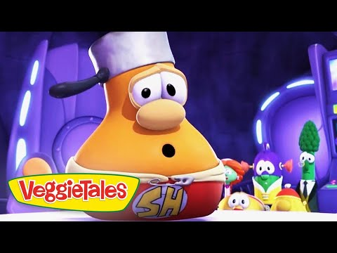 Veggie Tales   Super Hero   Veggie Tales Silly Songs With Larry   Videos For Kids