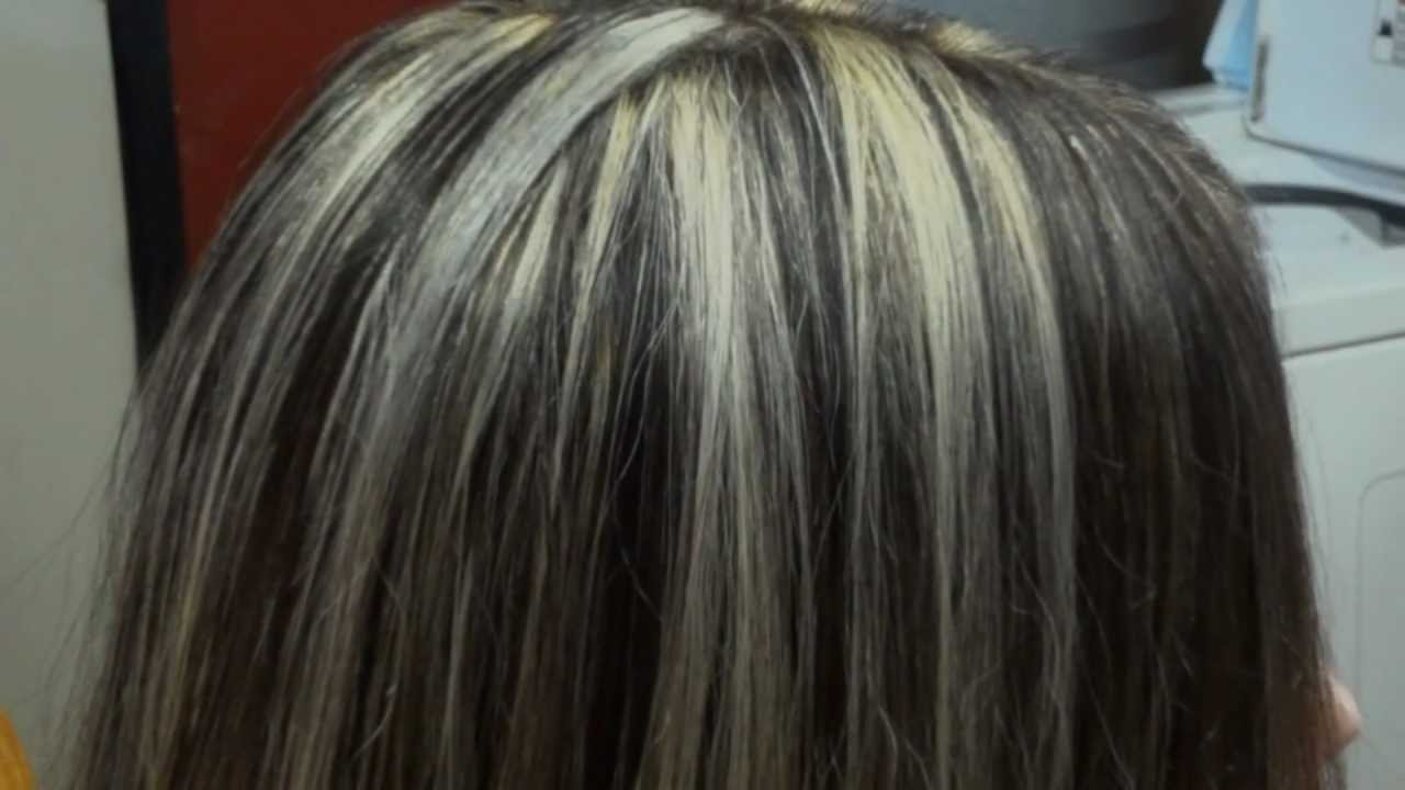 Lowlights On Gray White Hair Short Hairstyle 2013