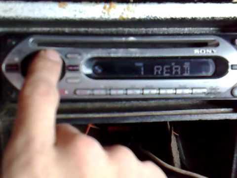 sony xplod cdx-20