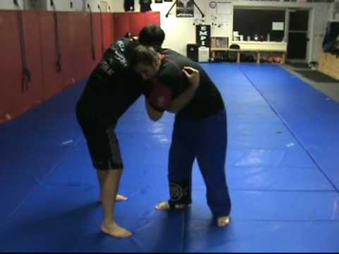 10th Planet Jiu Jitsu Rochester Technique (No-Gi Judo):Drop Shoulder Throw to D'arce Image 1