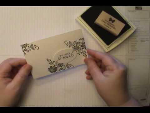 Fresh Vintage w/Stampin' Up! Designer Frames Wow Card
