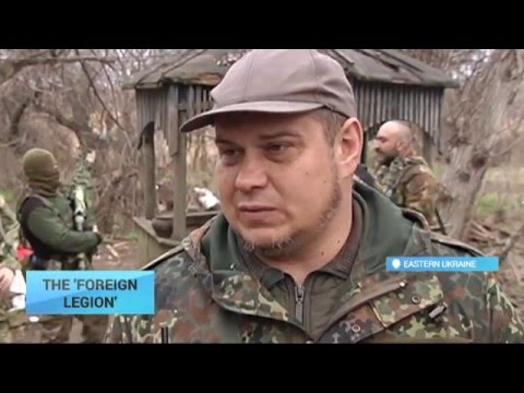 Ukraine's Foreign Legion: Americans and Georgians officially serving in Donbas