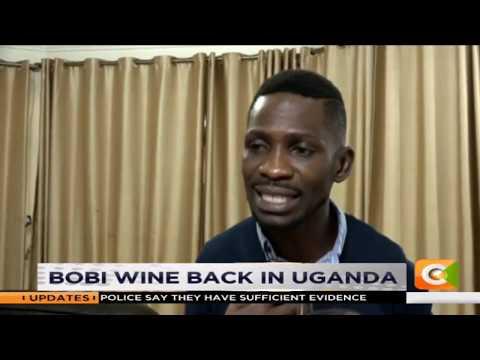 Bobi Wine returns to Uganda