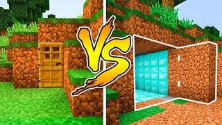MINECRAFT - NOOB VS PRO: SECRET BASE in Minecraft