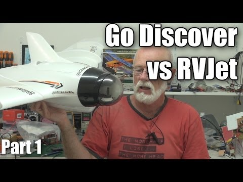 Go Discover versus RVJet FPV wing RC planes (part 1)