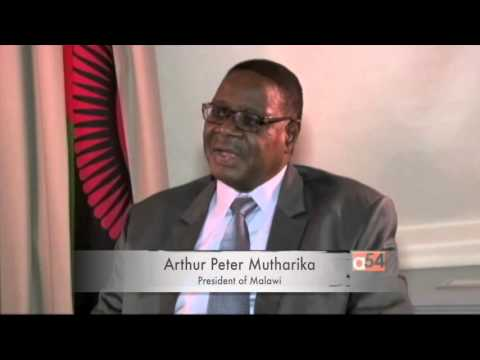 Malawi's President Speaking to VOA
