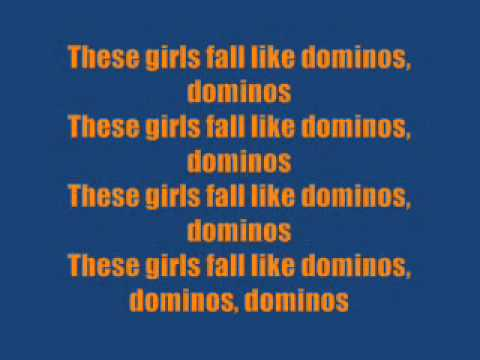 The Big Pink - Dominos Lyrics - YouTube