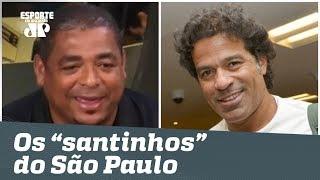 """Histórias do Vampeta: os """"santinhos"""" do São Paulo (só que não!)"""