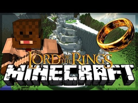 Minecraft Lord Of The Rings Mod Elves Vs Dwarves Mod Battles #2