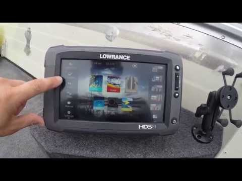 lowrance hds 7 touch 3
