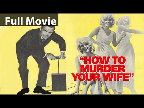 HOW TO MURDER YOUR WIFE | ENGLISH MOVIE| FULL MOVIE | BEST COMEDY MOVIE